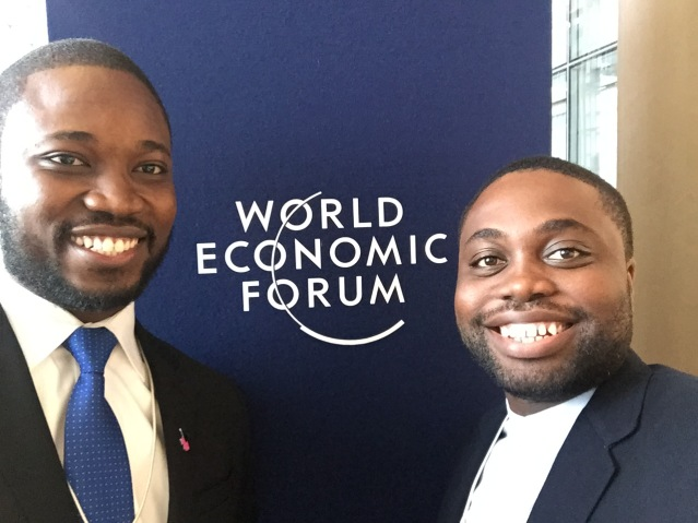 Global Shapers from Accra Hub: Emmanuel Gamor and Kow Essuman